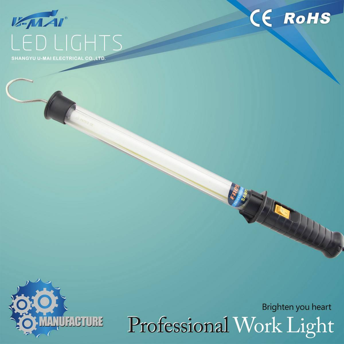 Low working current energy saving t5 fluorescent lamp