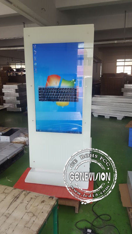 32 INCH Lcd Touch Screen Kiosk Advertising Totem
