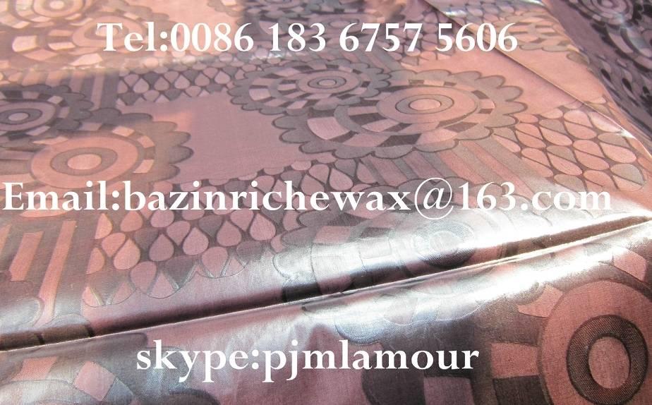 Bazin Riche MALI THIOUB Damask Guinea Brocade shadda Jacquard fabric tissu textile