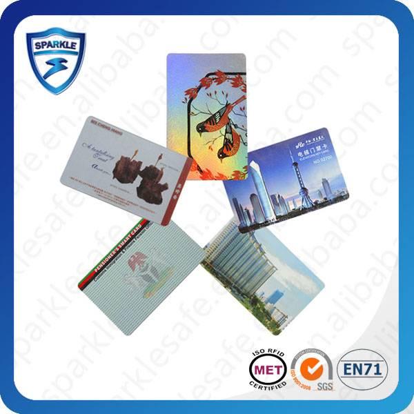Printable rewrite RFID card