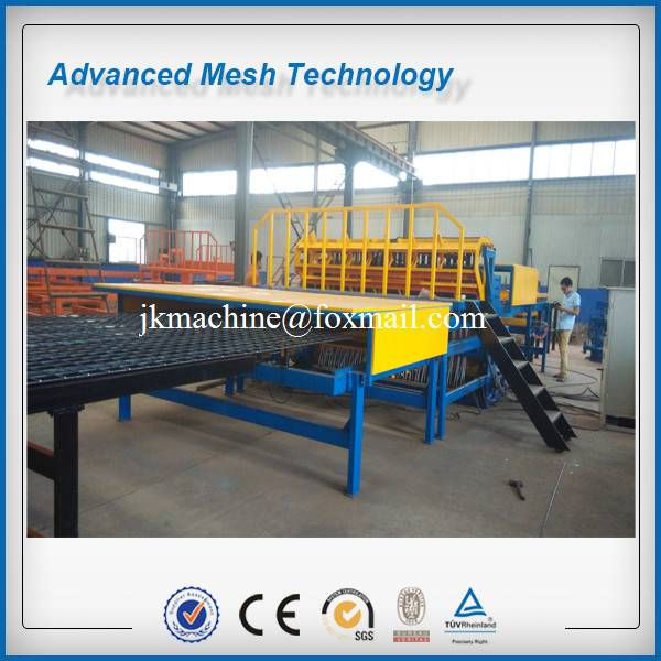 5-12mm Steel Ribbed Wire Mesh Welded Machines Concrete Reinforcing Mesh Making Equipment