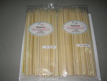 BAMBOO SKEWERS WITH SPECIAL PRICE