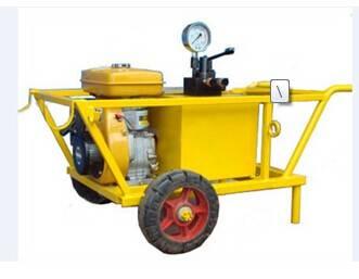 Gasoline hydraulic splitting machine