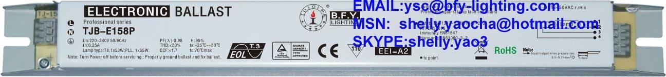 electronic ballast 58w
