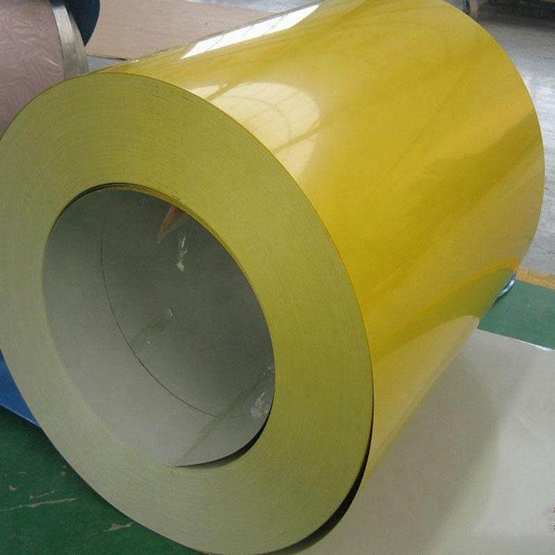 PVDF Cold Rolled Prepainted Galvanized Steel Coils PPGI
