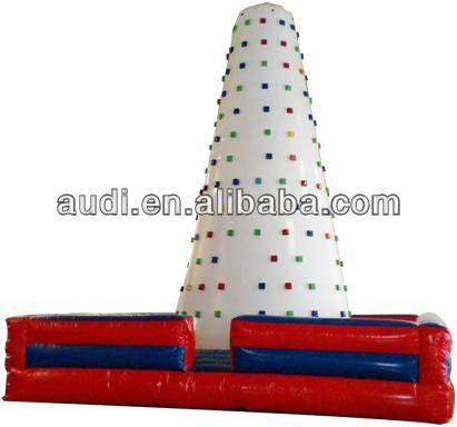Racing Inflatable Climbing Wall,inflatable Climbing mountain,Rock Climbing Wall