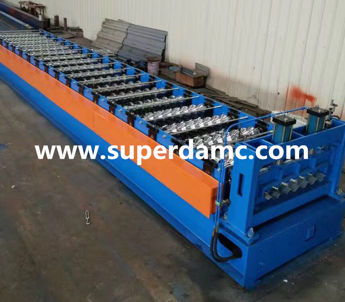 Superda Machine roofing wall galvanized corrugated tile profiles roll forming machine