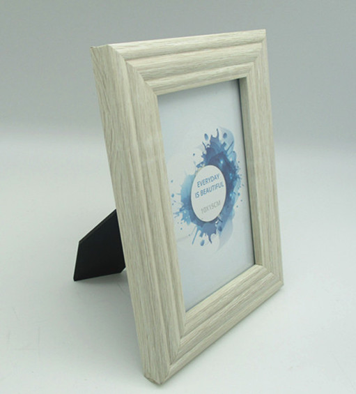 new white mdf photo frame