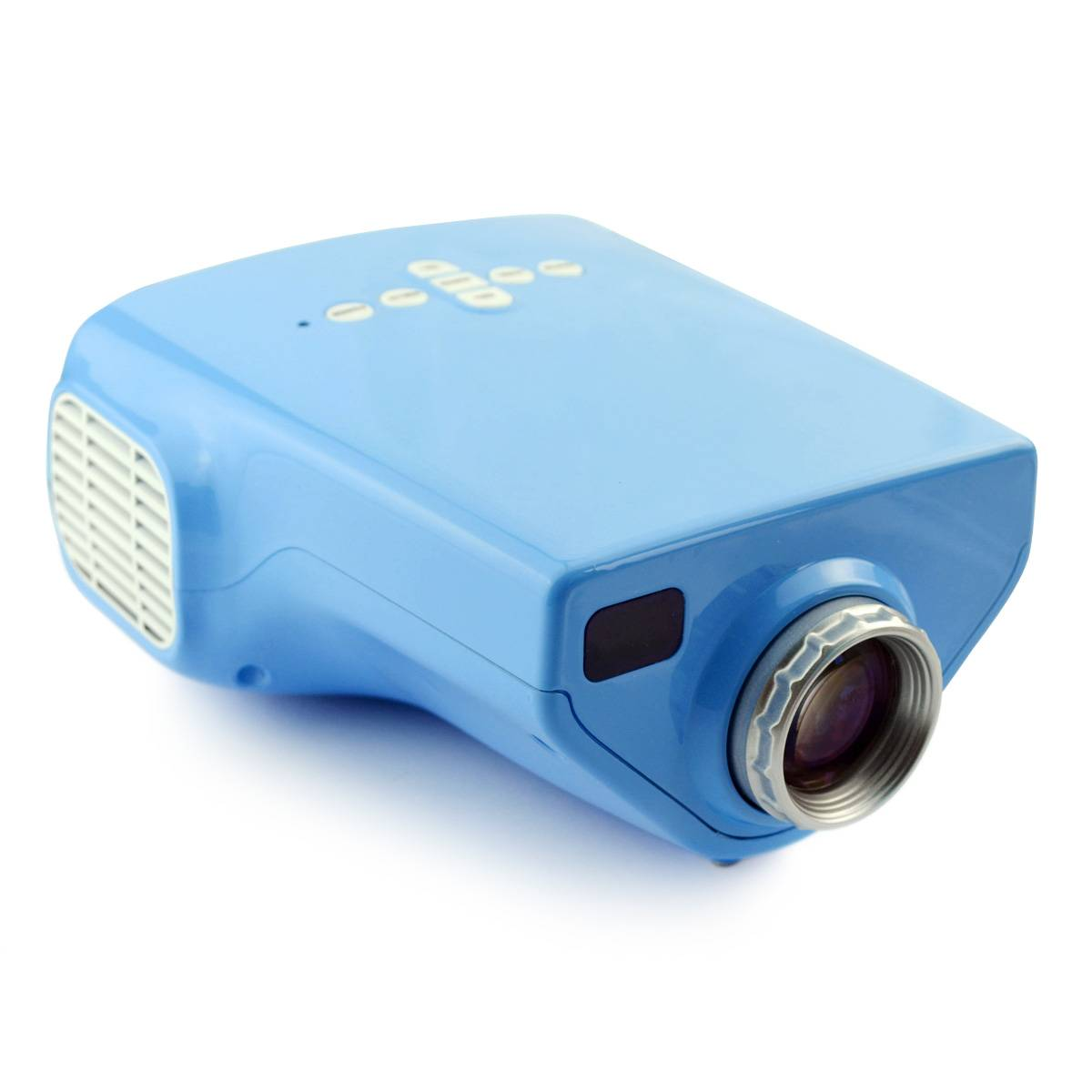 Portable Home Theater DIY HD Mini LED Projector