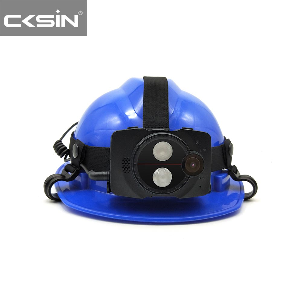 HD 1080P 4G Security industry Helmet Camera for Real-time Transmission T8
