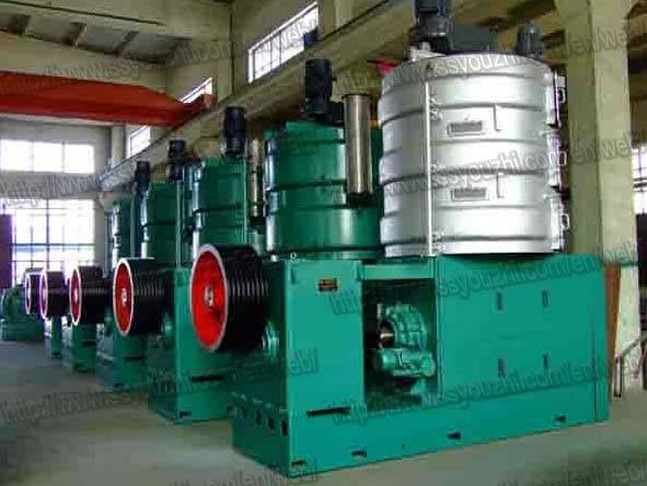 Large Scale Continuous Wheat Germ Oil Prepress