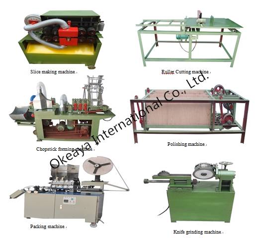 Chopstick making machine,chopstick making line