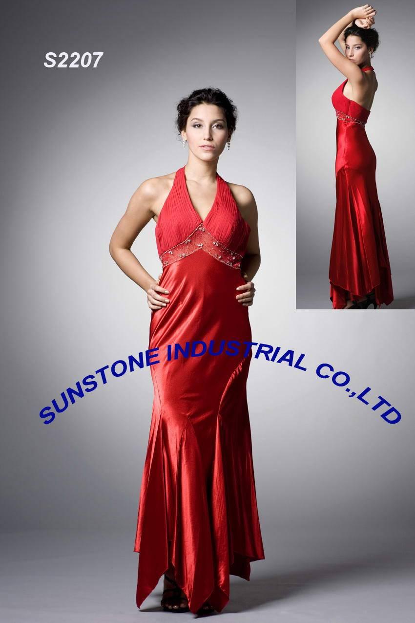 evening dress- S2207