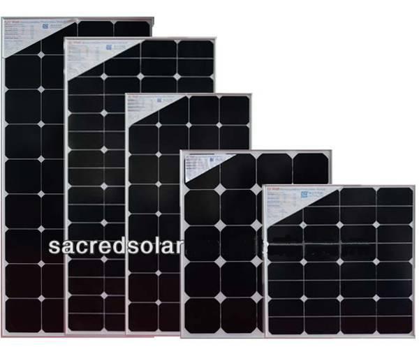 135W solar module