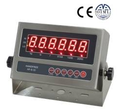 HF-S LED weighing indicator (stainless steel housing)