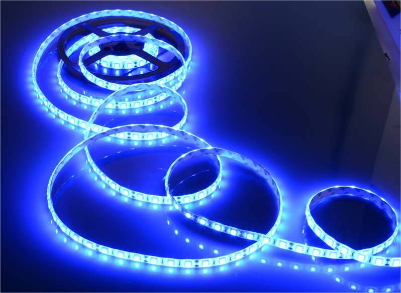 5050 three chip LED SMD flexible lamp strip