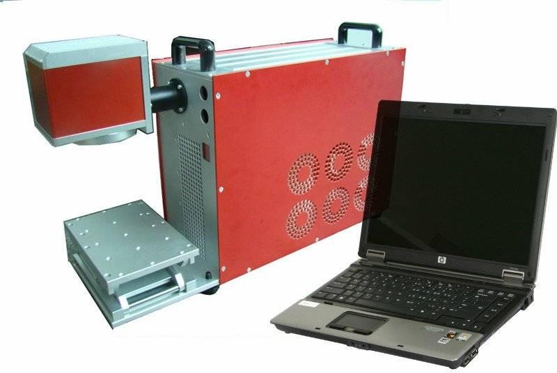 Sell Fiber laser marking machine 15W 20W 30W