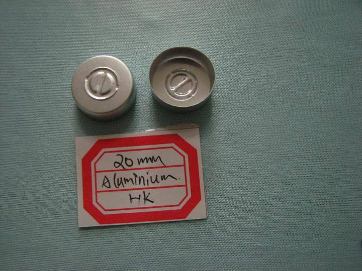 aluminum cap for pharmaceutical packaging