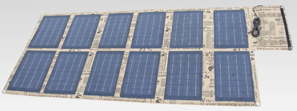 120watt foldable universal solar bag charger CY-120W