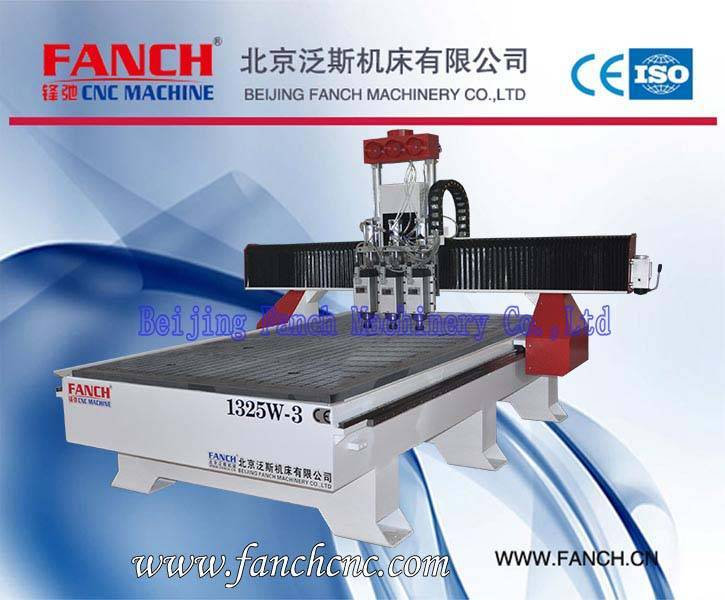 Offer Wood Three-spindle Multi-function Engraving/Cutting Machine