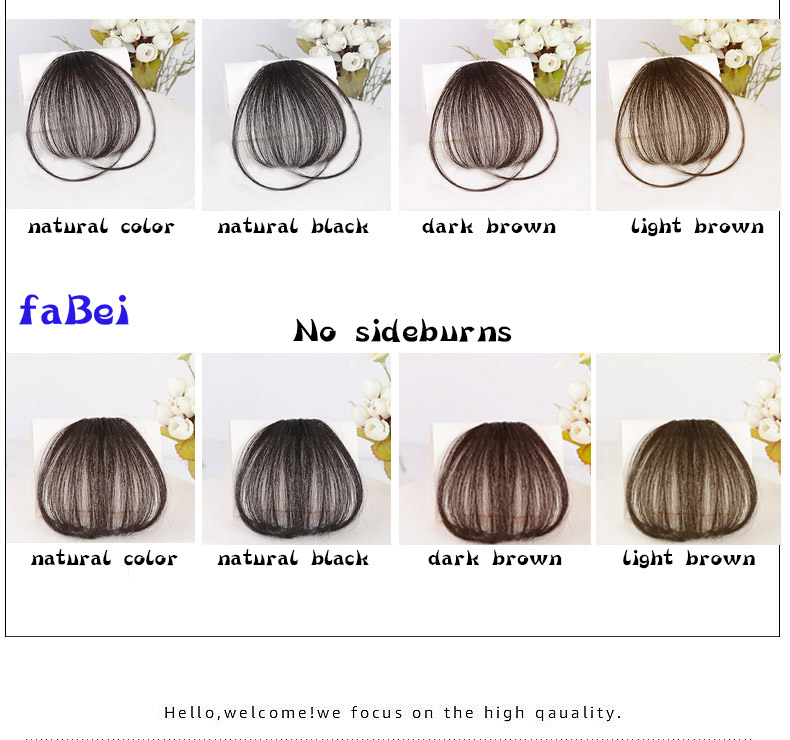 Wholesale High Quality Fashion Bangs,Hot Sale 100% Human Remy Hair Fringe Clip-in Hair Extension