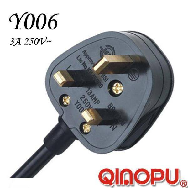 British UK 3-13A Fused Rewirable Plug (Y006)