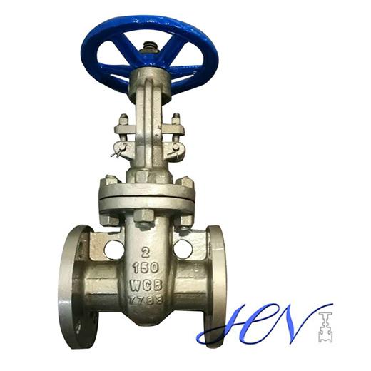 Low Pressure Handwheel Flanged Carbon Steel Flexible Wedge Gate Valve