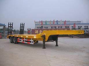 Low Bed Project Semi Trailer