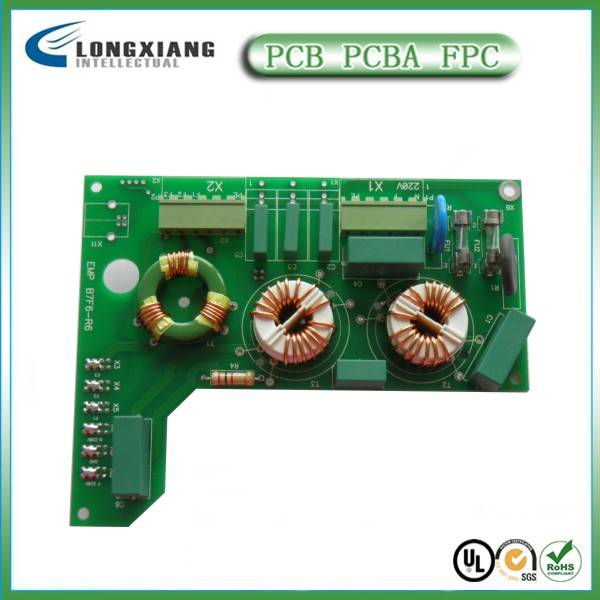 FR4 printed circuit board assembly
