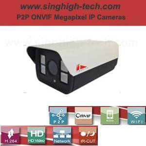 P2p Onvif 2.0MP 1080P Waterproof IR IP Camera (NS6379)
