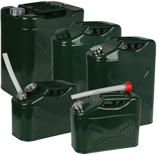 Jerrican Gasoline Gas Fuel Can Emergency Backup Gas Caddy Tank