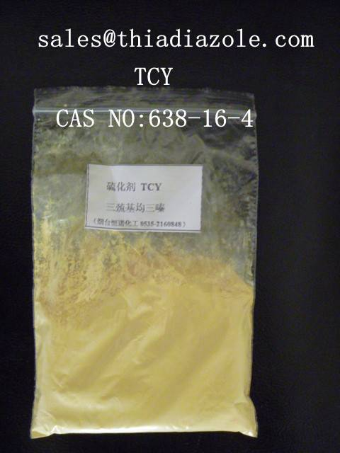TCY ---Trithiocyanuric acid,CAS RN:638-16-4 crosslinking agent for rubber