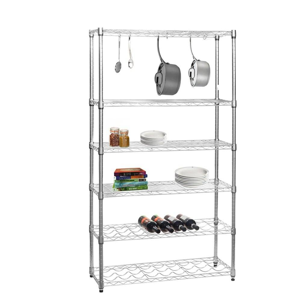 Selling chrome wire shelving units for kitchen