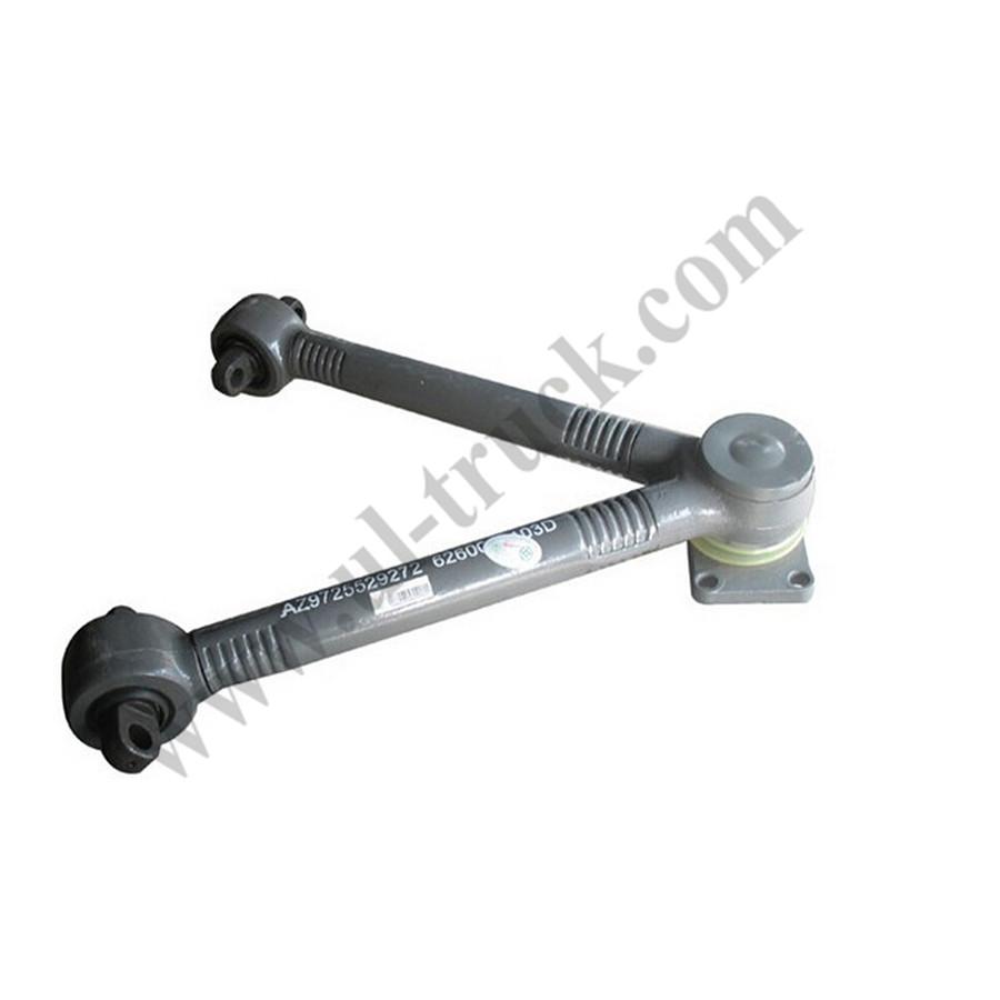 Original Sintruk Howo truck parts AZ9725529272 V thrust rod