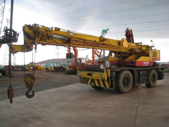 Kato KR25HV (rought terrain crane,mobile crane) Tadano TR250 TR350 TR500 Kobelco RK70M RK160