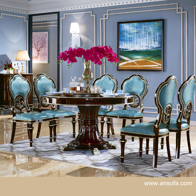 Dining Table with Sofa Chair for Dining Room Furniture 8802