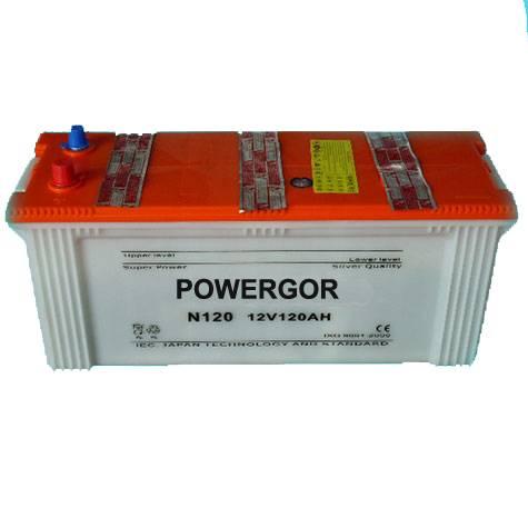 Car Starting Battery JIS Standard Lead Acid 12V120Ah Automotive car battery