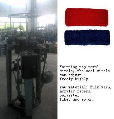 Knitting nap hat bands machine,head knitting machine, shawl knitting machine,headband knit machine
