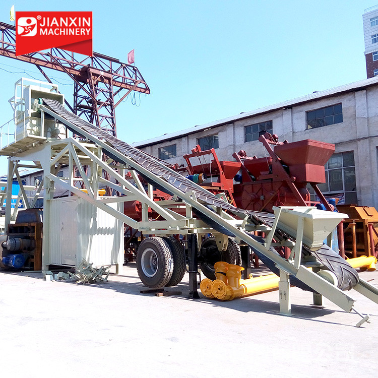 CE/ISO9001 25/35m3/h mini portable mobile concrete batching plant factory price for sale