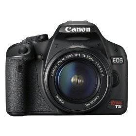 CANON EOS REBEL T1I 15.1MP CMOS DIGITAL SLR CAMERA W/EF-S 18-55MM LEN