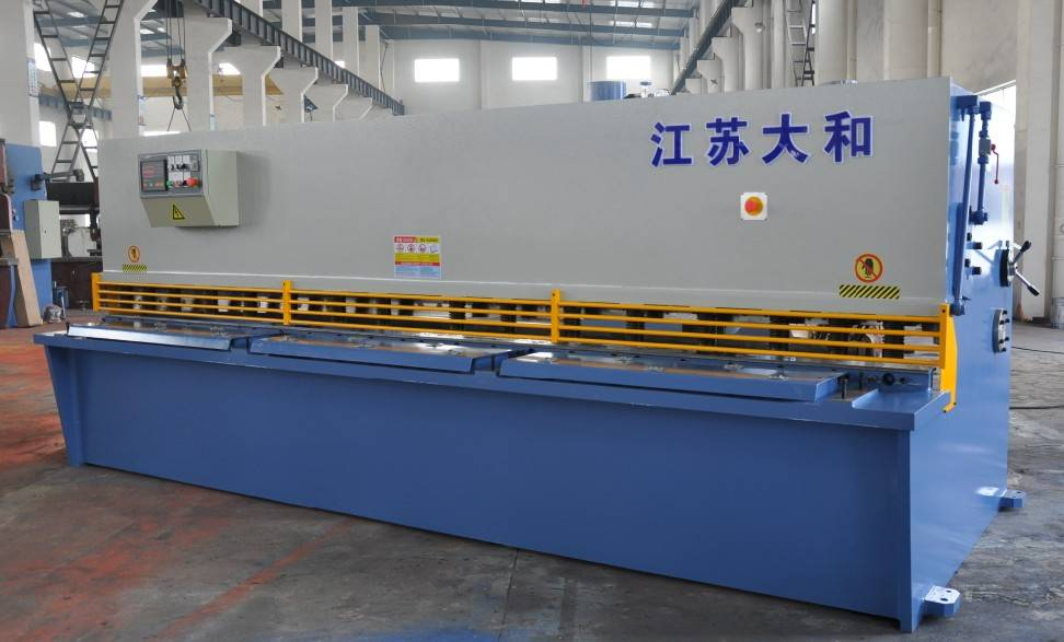 hydraulic swing beam shearing machine QC12Y-6x2500