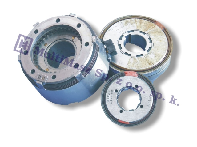 New, electromagnetic multi-disc clutch ZF EKR 10
