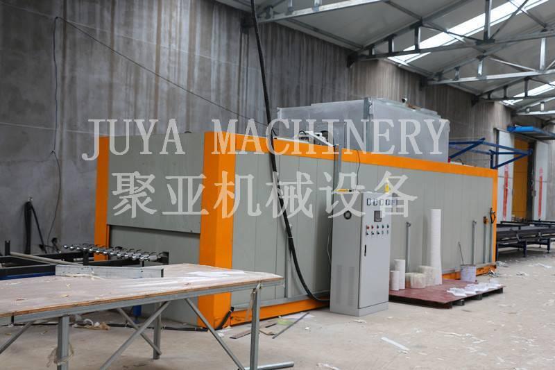 wood grain machine for aluminum extrusion