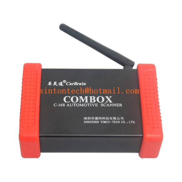 Profi WIFI OBD2 OEM CarBrain C168 Scanner Bluetooth update By Email