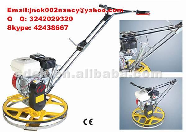 2015 HOT SALESOK-1000 Walking Type Concrete Finishing Machine,1m Concrete trowel machine gasoline