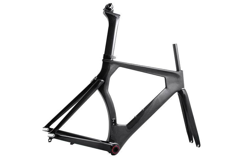 carbon bike track frame