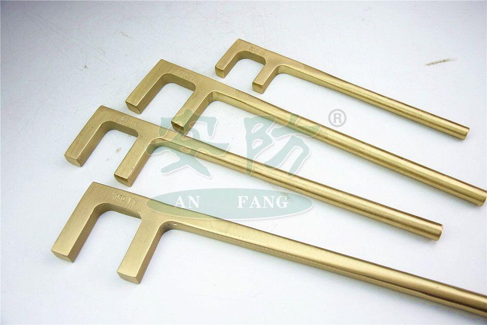 non sparking F valve wrench ,Aluminum Bronze Beryllium Copper