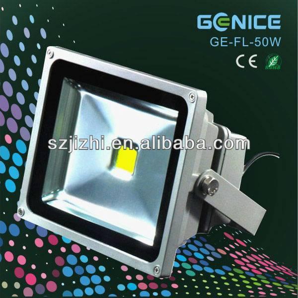 Bridgelux COB 50W LED flood light AC100-240V IP65