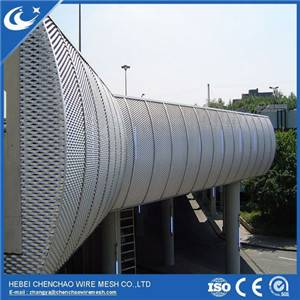 Aluminum small hole expanded metal mesh/expanded metal