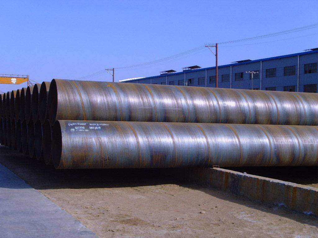SSAW (Spirally Submerged Arc Welding) Steel Tube Promotion, Chinese origin, Low price offer